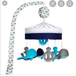 Just Born Nautical Crib Mobile + Free gift